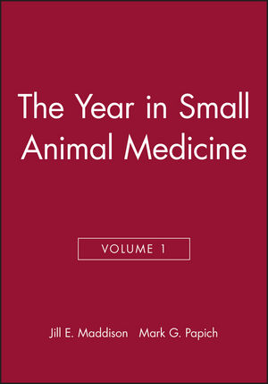 The Year in Small Animal Medicine, Volume 1 (1405131942) cover image