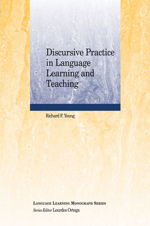 Discursive Practice in Language Learning and Teaching (1405184442) cover image