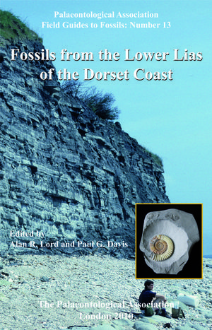 The Palaeontological Association Field Guide to Fossils, Number 13, Fossils from the Lower Lias of the Dorset Coast (1444337742) cover image