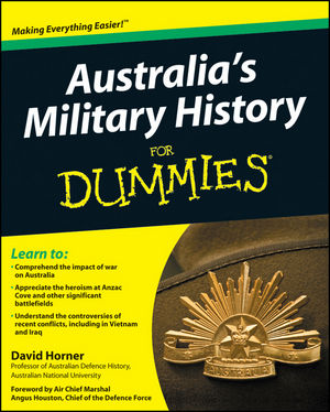 Australia's Military History For Dummies (1742468942) cover image