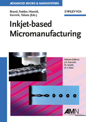 Inkjet-based Micromanufacturing, Volume 9 (3527319042) cover image