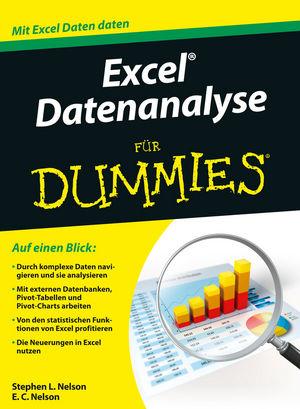 Excel Datenanalyse für Dummies | Microsoft Excel | Office ...