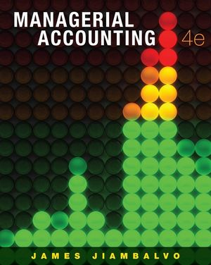 Managerial Accounting, 4th Edition (EHEP000242) cover image