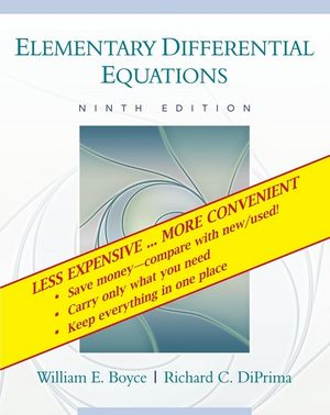 Elementary Differential Equations, 9th Edition Binder Ready Version