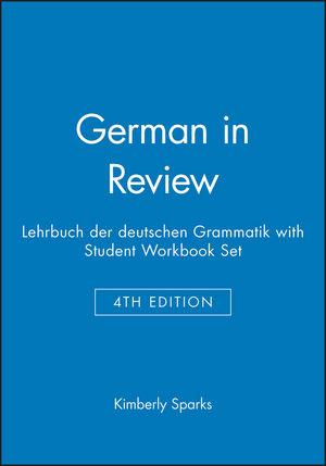 German in Review: Lehrbuch der deutschen Grammatik 4E with Student Workbook Set
