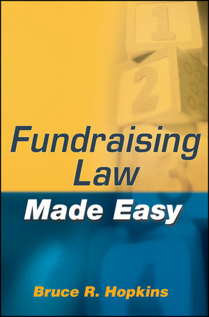 Fundraising Law Made Easy (0470530243) cover image