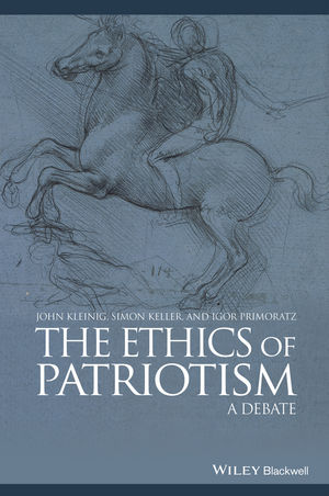 The Ethics of Patriotism: A Debate (0470658843) cover image