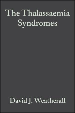 The Thalassaemia Syndromes, 4th Edition
