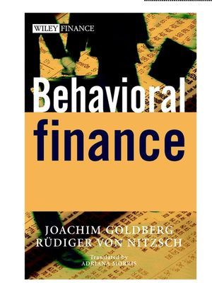 Behavioral Finance (0471497843) cover image