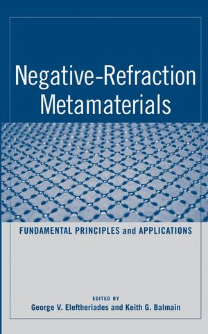 Negative-Refraction Metamaterials: Fundamental Principles and Applications (0471744743) cover image