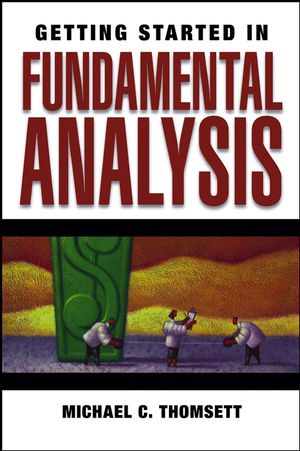 Getting Started in Fundamental Analysis (0471792543) cover image