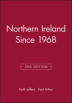 Northern Ireland Since 1968, 2nd Edition (0631200843) cover image