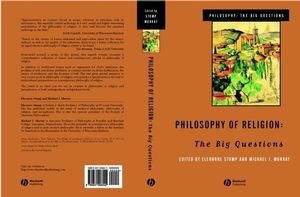 Philosophy of Religion: The Big Questions (0631206043) cover image