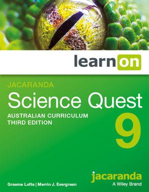 Jacaranda Science Quest 9 Australian Curriculum learnON (Online Purchase)