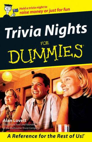 Trivia Nights For Dummies, Australian Edition