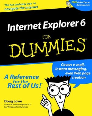 Internet Explorer 6 For Dummies