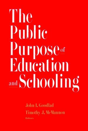 The Public Purpose of Education and Schooling (0787909343) cover image