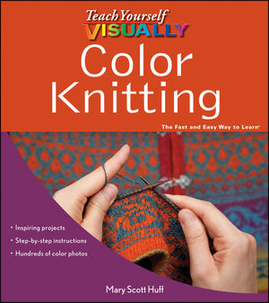 Teach Yourself VISUALLY Color Knitting (1118236343) cover image