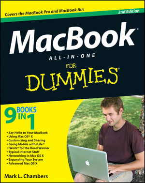 MacBook All-in-One For Dummies, 2nd Edition (1118237943) cover image