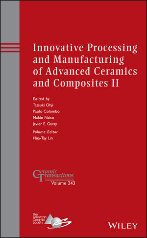 Innovative Processing and Manufacturing of Advanced Ceramics and Composites II (1118771443) cover image