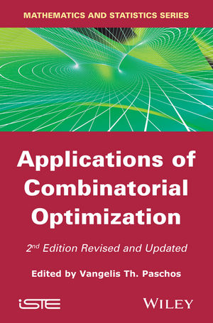 Applications of Combinatorial Optimization, 2nd Edition (1119015243) cover image