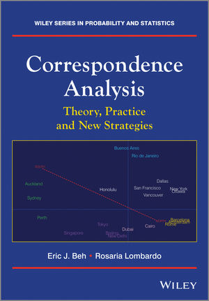Correspondence Analysis: Theory, Practice and New Strategies (1119953243) cover image