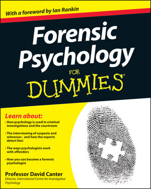 Forensic Psychology For Dummies (1119976243) cover image