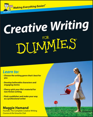 Creative Writing For Dummies, UK Edition (1119992443) cover image