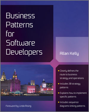 Business Patterns for Software Developers (1119999243) cover image