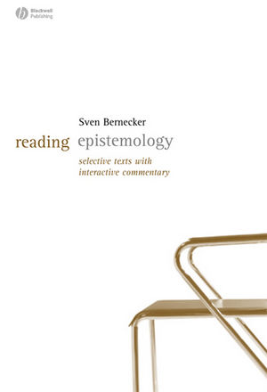 Reading Epistemology: Selected Texts with Interactive Commentary (1405127643) cover image