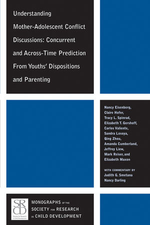 Understanding Mother-Adolescent Conflict Discussions: Concurrent and Across-Time Prediction from Youths