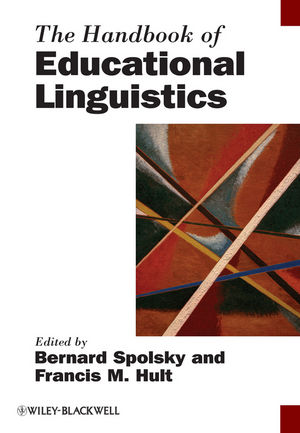 The Handbook of Educational Linguistics (1444331043) cover image