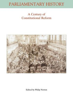 A Century of Constitutional Reform (1444338943) cover image
