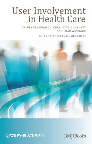 User Involvement in Health Care (1444348043) cover image