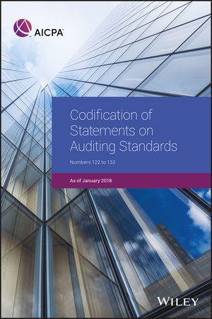 Codification of Statements on Auditing Standards: Numbers 122 to 133, January 2018