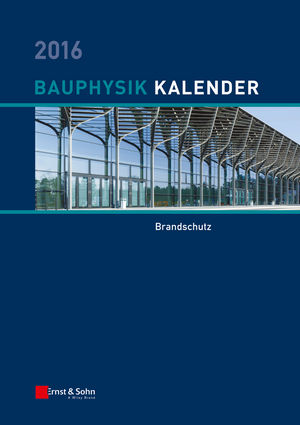Bauphysik-Kalender 2016: Schwerpunkt: Bauwerksabdichtung (3433606943) cover image