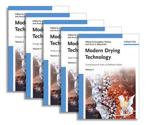 Modern Drying Technology, 5 Volume Set