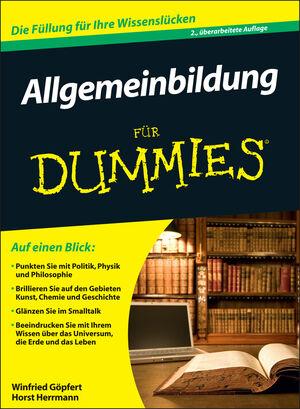 Allgemeinbildung für Dummies                                                    , 2. Auflage