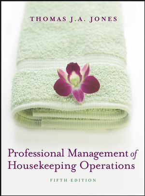 Professional Management of Housekeeping Operations, 5th Edition (EHEP000843) cover image