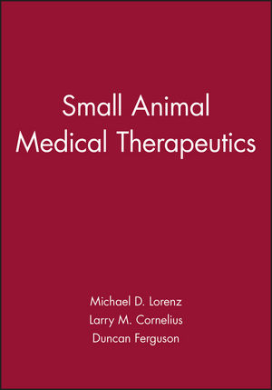 Small Animal Medical Therapeutics