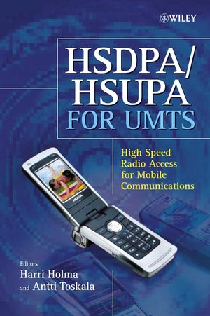 HSDPA/HSUPA for UMTS: High Speed Radio Access for Mobile Communications (0470018844) cover image