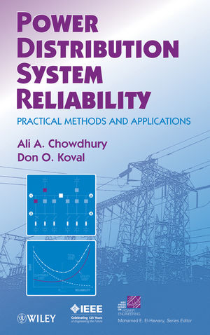 Power Distribution System Reliability: Practical Methods and Applications (0470459344) cover image