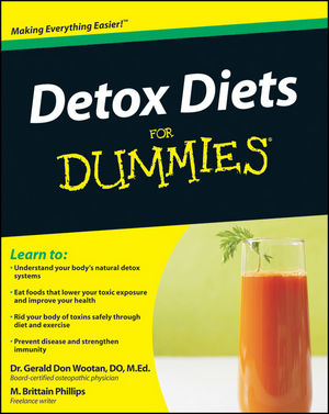 Detox Diets For Dummies (0470618744) cover image