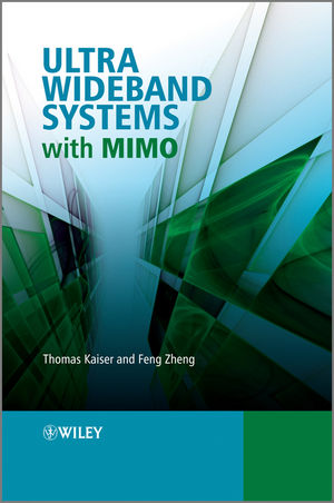 Ultra Wideband Systems with MIMO (0470712244) cover image