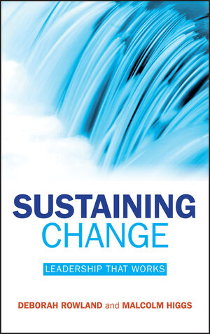 Sustaining Change: Leadership That Works (0470724544) cover image