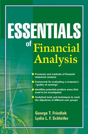 Essentials of Financial Analysis (0471432644) cover image