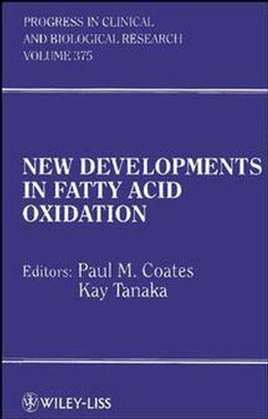 New Developments in Fatty Acid Oxidation