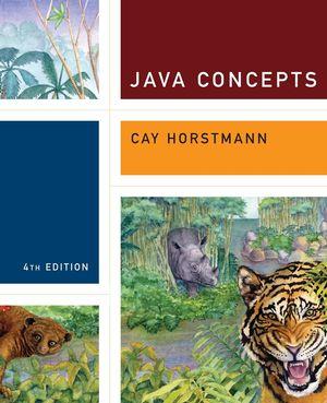 horstmann java concepts 4th edition student companion site rh jws edcv wiley com Horstmann Java for Everyone 2E Horstmann Wiley