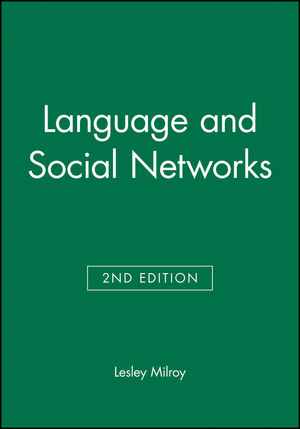 Language and Social Networks, 2nd Edition (0631153144) cover image