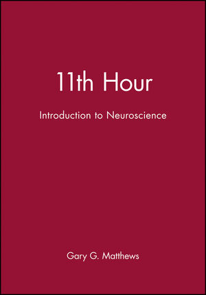 11th Hour: Introduction to Neuroscience (0632044144) cover image